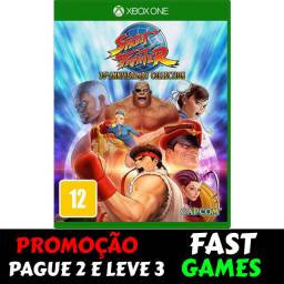 Street Fighter 30th Anniversary Collection xbox one promoção
