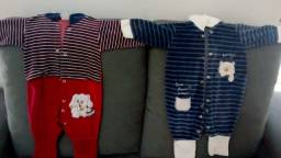 Vendo 20 peças de roupas para menino por 70 reais