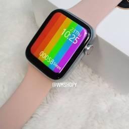 Smartwatch Lacrado Original W26 linha iwo (smart w26 rosa)