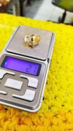 Anel em ouro 18 k