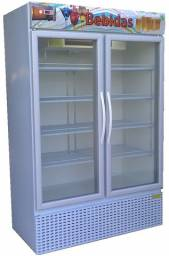 Expositor vertical bebidas visa cooler 2 portas