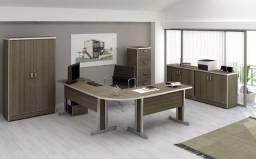 Mesa escritório [Novos] Vendemos também arquivo madeira armário balcão Escrivaninha
