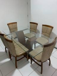 Mesa de jantar + cadeiras