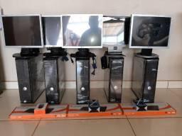 Computador Completo Dell, conservado, ideal para empresas em geral