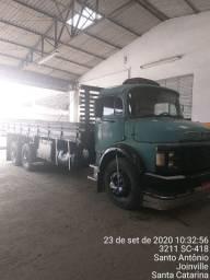 Truck 1118 interculado 89 vendo ou troco Toco Baú