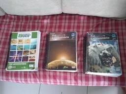 Livros de estudos para pré vestibular R$:45 cada