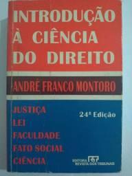 LIVRO INTRODUÇÃO A CIENCIA DO DIREITO - ANDRÉ FRANCO MONTORO
