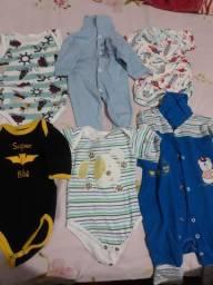 Vendo lote de roupas de menino