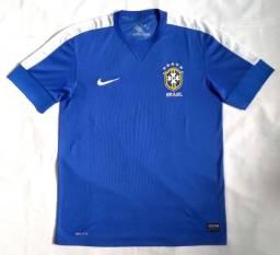 Camisa II Oficial Nike Brasil 2013 s/nº Tamanho M