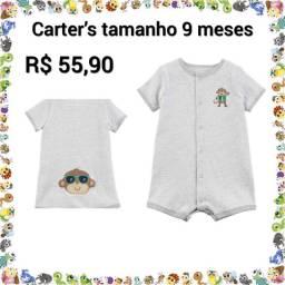 Roupas infantis originais e novas importadas da marca Carters