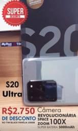 S20 Ultra - Câmera 100x