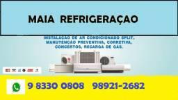 Instalação , Limpeza e Serviços em Ar condicionados Split * whatsapp