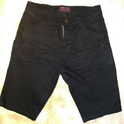 Bermuda Jeans com Laicra