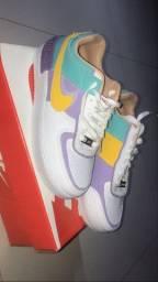Tênis Nike AF1 shadow original