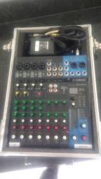 Mesa yamaha mg10xu audio profissional mesas som
