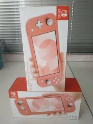 Nintendo switch lite 33gb novo lacrado