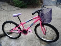 Bike bicicleta aro 24 infantil