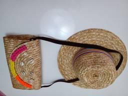 Bolsa + chapéu + faixa 50,00