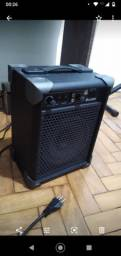 Caixa de som/amplificador novo