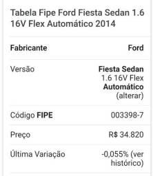 Ford Sedan preto automático.