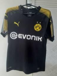 Camisa Borussia Dortmund Away 2017/2018 Tamanho P