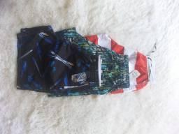 Short moleton, mauricinho e camiseta