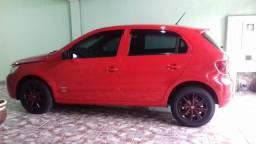 Volkswagen Gol G5 vermelho