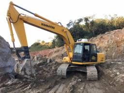 Escavadeira Komatsu PC200-6 Força e Economia - Valor só para esse mês