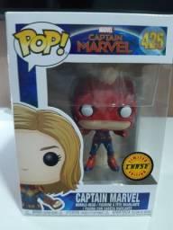 Boneco Funko Pop! Marvel: Capitã Marvel 425 (Versão Chase)
