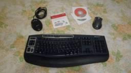 Teclado e Mouse Wireless Microsoft
