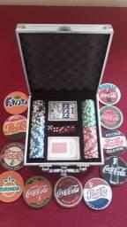 Poker sem uso +12 bolachas bom preço