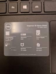 "Notebook dell Intel Core i7 - 8GB - 1TB - tela 15,6"""