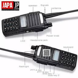 Rádio Comunicador 5w Dual band entrega grátis garantia.