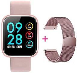 Smartwatch com pulseira extra