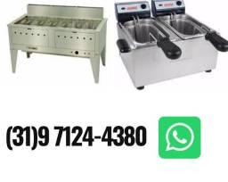 Fritadeira Gas / Eletrica Nova