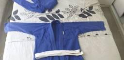 Kimono Azul Atama M3 em Perfeito Estado