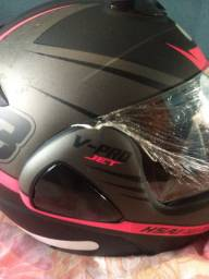 Vendo capacete nunca usado novo troca em bicicleta.