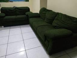 Sofá de dois e três lugares