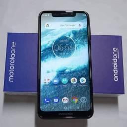 Smartphone Motorola One 64GB Branco