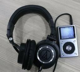 Fone Audio Technica ATH M50x Profissional para Estúdio novo