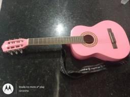 Violão PHX rosa infanto juvenil