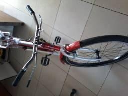Bicicleta monak barra circular top.