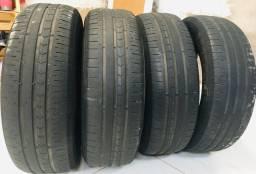 4 pneus meia vida