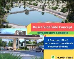 Oportunidade: Busca Vida Side Concept, 4 quartos, 3 suítes, 130 m², 2 vagas,em Abrantes