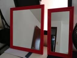 Vendo 2 quadros de vidro
