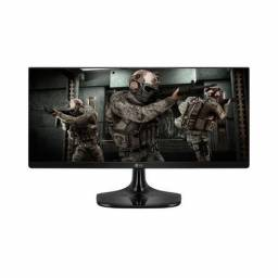 (novo) monitor gamer lg 25? ultrawide full hd ips preto