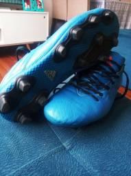 Chuteira Adidas Messi 16.4 FXG Campo Azul