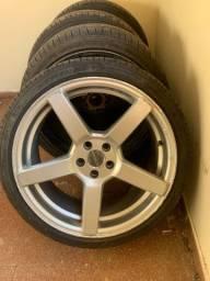 4 Aros 18 com pneus novos
