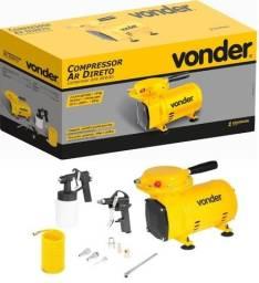 Compressor Ar Direto 1/2cv + Kit Pintura, Novo, garantia N. Fiscal