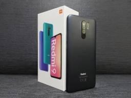 Redmi 9 Xiaomi 32, 64 e 128GB 12x 128,00 Novo Lacrado.